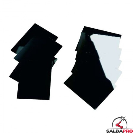 Vetro inattinico per maschera da saldatura 90x110 DIN 9-13 (10pz)