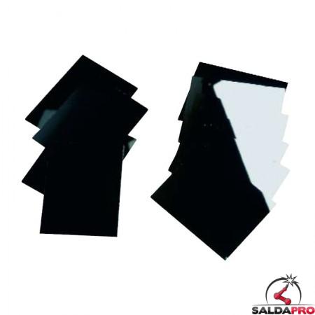 Vetro speculare per maschera da saldatura 90x110 DIN 9-13 (1pz)
