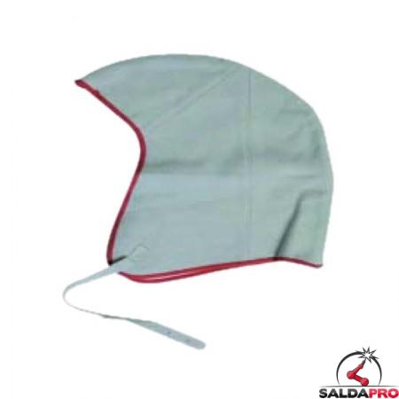 Cuffia protettiva in pelle per saldatore linea ECO