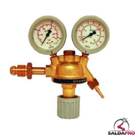riduttore pressione argon mix saldatura mig mag tig con manometri
