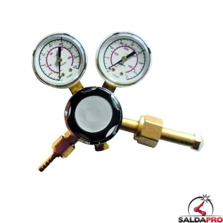 riduttore pressione armix ossigeno saldatura ossiacetilenica con manometri