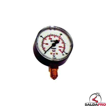 manometro riduttore di pressione ossigeno ap saldatura ossiacetilenica