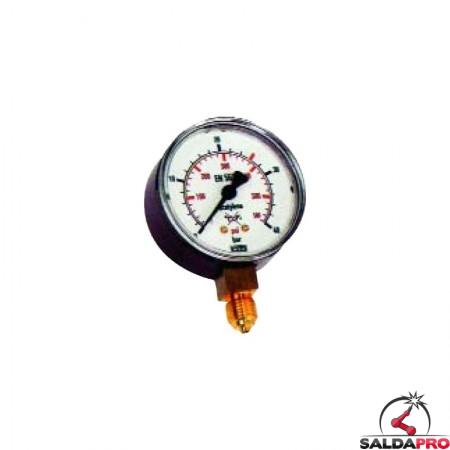 manometro riduttori di pressione acetilene ap