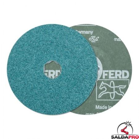 disco fibrato corindone zirconio 115-180mm grana 24-120 combiclick