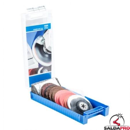 Set COMBICLICK® CC-SET 115 M14 per finitura e lucidatura