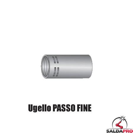 Ugello gas PASSO FINE Ø 13-16-19 mm per torcia TW (10pz)