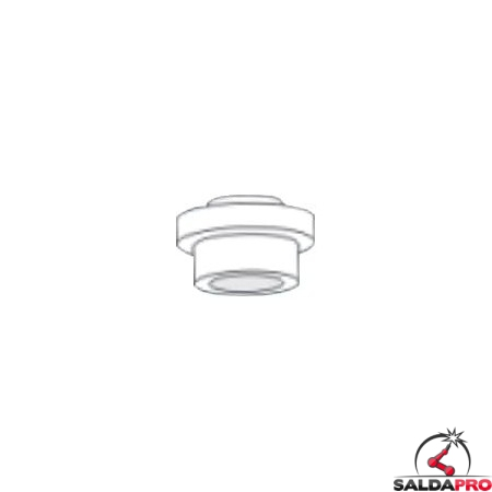 Isolante inferiore Gas Lens torce Serie WP saldatura TIG (10 pz)