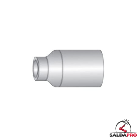 Ugello nitruro silicio Gas Lens Ø 6-17,5 mm torce Serie WP saldatura TIG (10 pz)