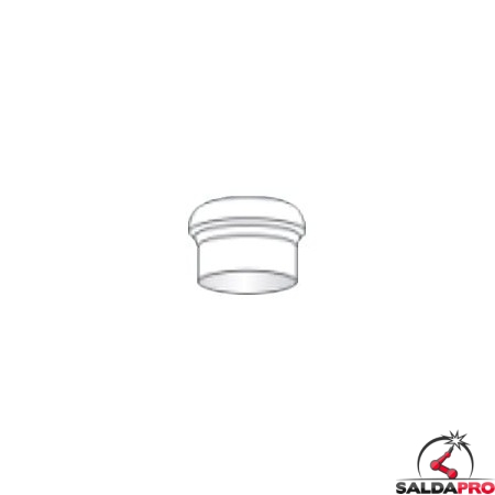 Isolante Gas Lens Large torce Serie WP saldatura TIG (10 pz)