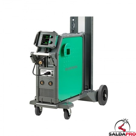 Saldatrice Sigma Select 400 C-L raffreddamento aria MIG-MAG MMA Migatronic