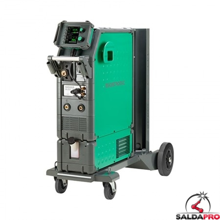 Saldatrice Sigma Select 400 C-V raffreddamento acqua MIG-MAG MMA Migatronic