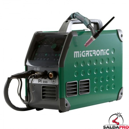 Saldatrice PI 200 TIG DC HP - AC/DC saldatura TIG Migatronic