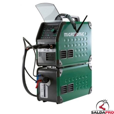 Saldatrice PI 200 TIG AC/DC con raffreddamento ad acqua Migatronic