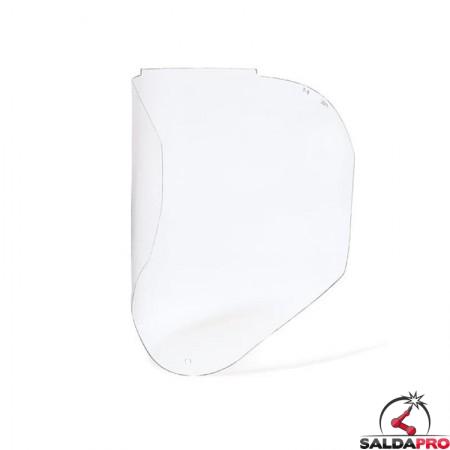 Visiera frontale trasparente in policarbonato per maschera g300 Optrel