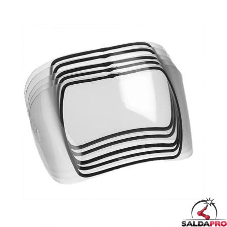 Vetro esterno curvo per maschere Expert e Satellite Optrel (5 pz)
