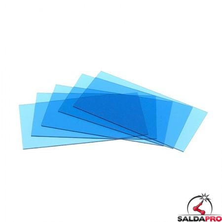 Vetrino interno blu (+1) per maschere serie Expert Optrel (5 pz)