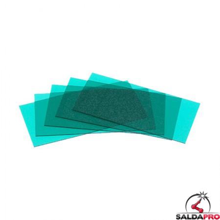 Vetrino interno verde chiaro (+1,5) per maschere serie Expert Optrel (5 pz)