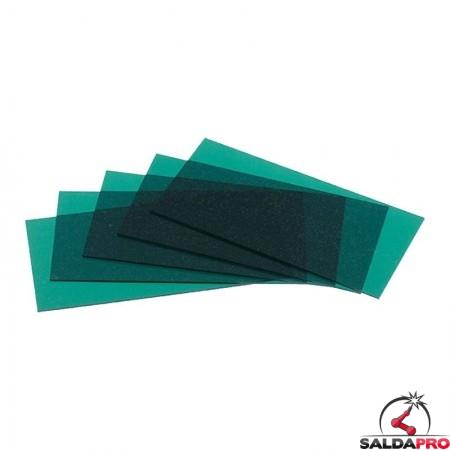 Vetrino interno verde scuro (+2) per maschere serie Expert Optrel (5 pz)