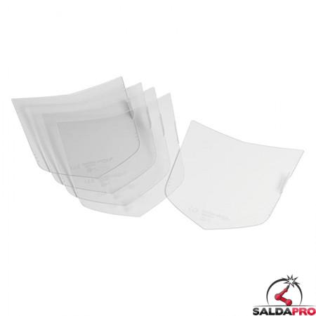 Vetro esterno per maschera p550 Optrel (5 pz)
