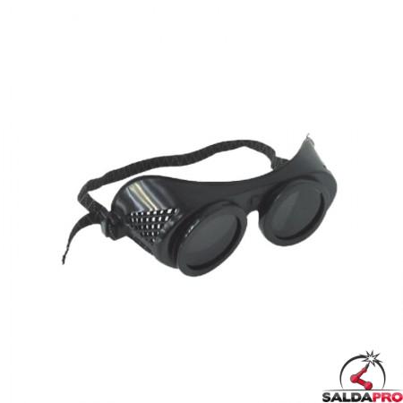 Occhiali protettivi Amigo Ø50mm per saldatura (10pz)