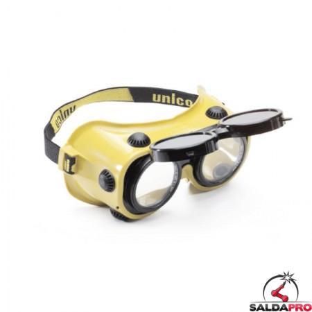 Occhiali protettivi Twin Ø50mm per saldatura (10pz)