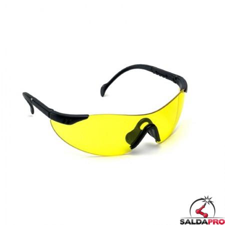Occhiali protettivi Cyclo in policarbonato per saldatura (10pz)
