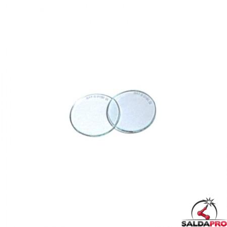 Lenti tonde Ø50mm per occhiali protettivi da saldatura (10pz)