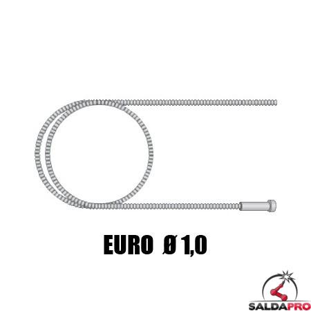 Guaina guidafilo nuda Ø 1,0 - 3,5-4,5 mt attacco EURO