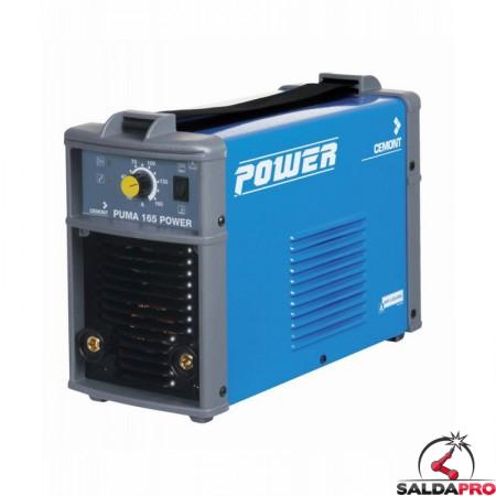 Saldatrice Inverter PUMA 165 POWER CEMONT monofase MMA 230V
