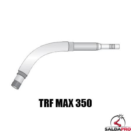 Lancia tipo MAX 350 con doppia protezione per torce TRF