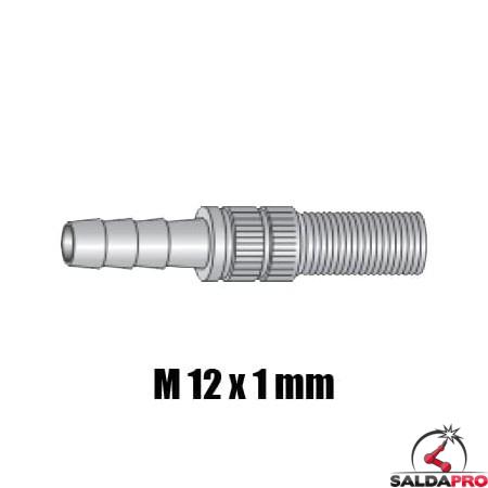 raccordo M12x1 ricambio torcia TRF MAX350
