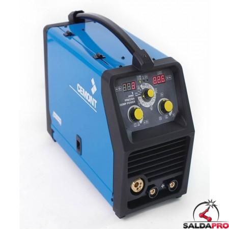 Saldatrice Inverter PRECISA 180 MP CEMONT monofase MIG/MAG MMA-TIG multiprocesso