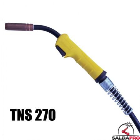 torcia completa tynos tns 270 saldatura filo continuo mig