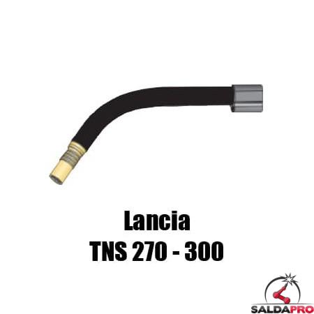 Lancia TYNOS® TNS 270 - 300 saldatura a filo MIG