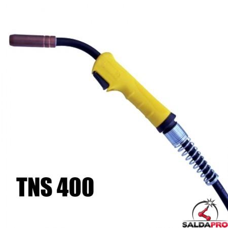 Torcia completa Tynos® TNS 400 per saldatura a filo MIG