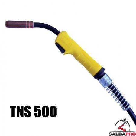 Torcia completa Tynos® TNS 500 per saldatura a filo MIG