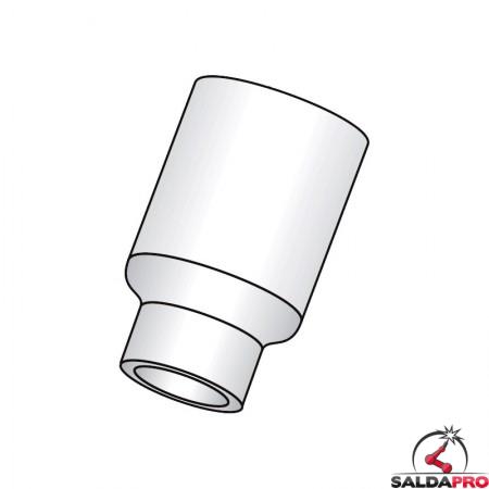 ugello nitruro silicio gas lens large ricambio per torce wp saldaura tig