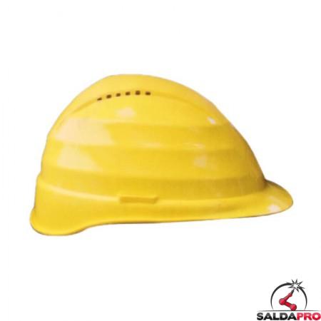 elmetto protettivo cantiere T6 policarbonato 6 punti appoggio saldatura