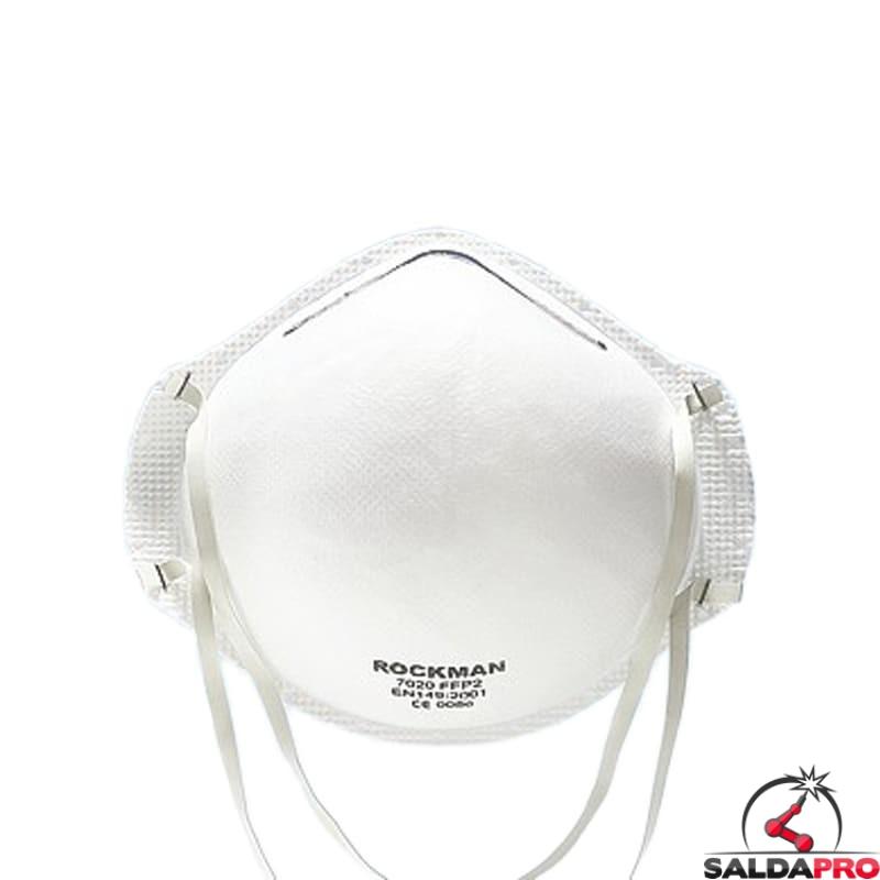 mascherina a guscio con filtro ffp1 ffp2 bianca protezione respiratoria