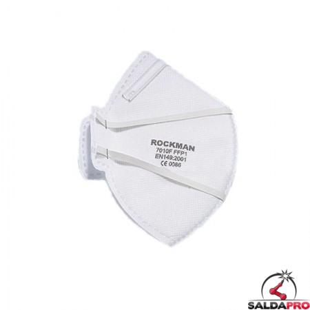 Mascherina pieghevole monouso con filtro FFP1-FFP2 (10pz)