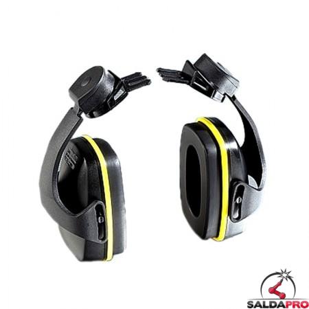 cuffia antirumore 28db montatura per elmetti protezione udito
