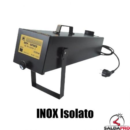 fornetto inox isolato portatile asciuga elettrodi 42v 110v 220v preparazione saldatura