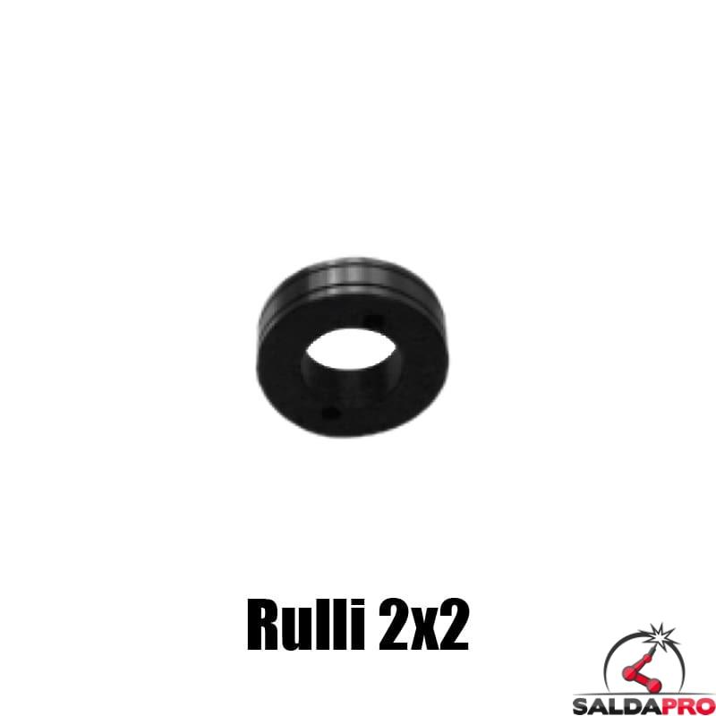 ricambio rullino scanalato filo alluminio 0,6 1,6 mm unita trainafilo 2x2 4x2 4x4 saldatura mig mag