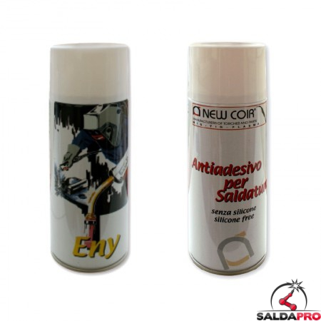 antiadesivo bomboletta spray 300ml saldatura mig mag 10 pezzi