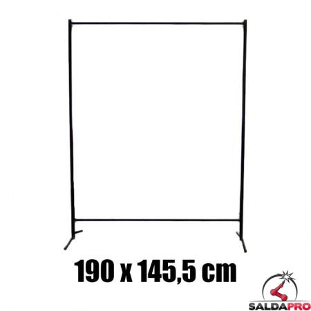 struttura metallo ricambio pannello protettivo 190x145,5 saldatura