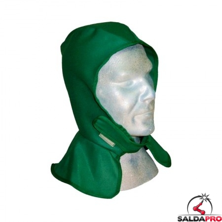 cuffia protettiva cap-66 in cotone ignifugo per saldatura protezione testa collo