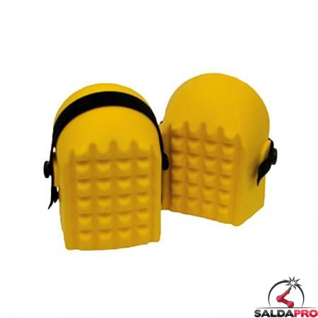 ginocchiere gialle in poliuretano kp-98 per saldatura