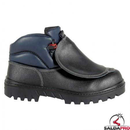 scarpe antinfortunistiche saldatore protector bis s3 in pelle taglia 39-48 cofra