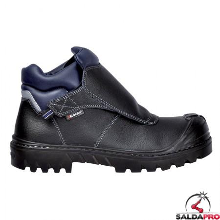 scarpe antinfortunistiche saldatore welder bis uk s3 in pelle taglia 39-48 cofra