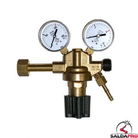 riduttore pressione ossigeno ottone 300/315 atm 15/16 atm saldatura ossiacetilenica